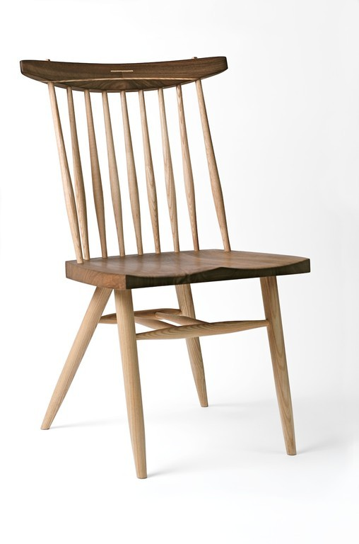 Lovely This Introduces A Strong Vertical Element To The Chair Which Creates A  Sense Of Formality.  The Seat And Back Rest Are Walnut And The Legs,  Spindles And ...